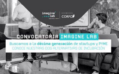 Imagine Lab lanza décima convocatoria para potenciar emprendimientos y PYME innovadoras