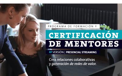 Cuarta versión del programa de certificación de mentores se adapta a nuevos tiempos y se expande a nivel LATAM