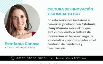 Nueva charla para el Programa Circle Talks: La cultura de la innovación